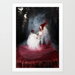 Bride of the earth Art Print