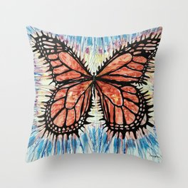 I can survive the deepest hurt Throw Pillow