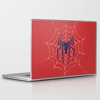 spider Laptop & iPad Skins featuring Spider by Vickn