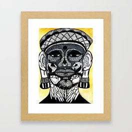 Imperfect Buddha Framed Art Print