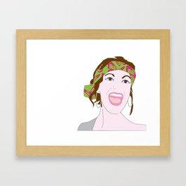 Terry Nushkins Framed Art Print