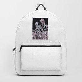 Skull Under The Moonlight Backpack