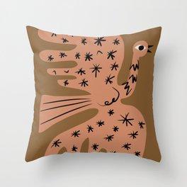 Phoenix stardust Throw Pillow