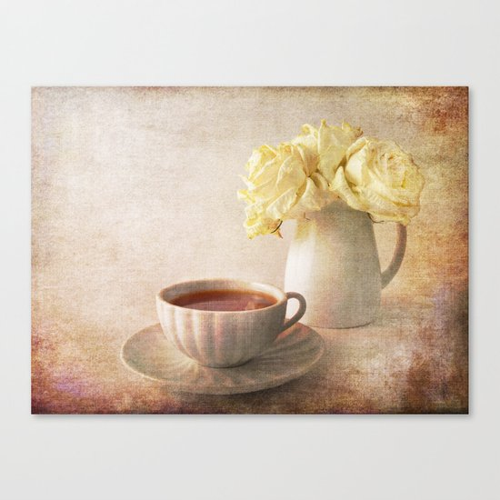 Simply Roses Canvas Print