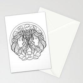 Zodiac Series | Gemini Stationery Cards