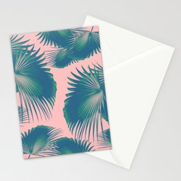 Fan Palm Leaves Paradise #10 #tropical #decor #art #society6 Stationery Cards