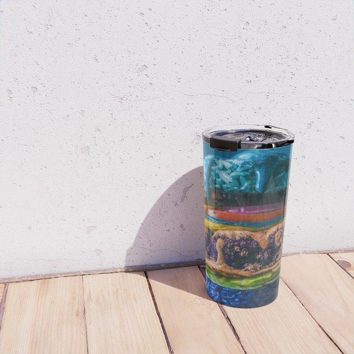 Mermaid Cauliflower Rice Burger Travel Mug