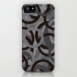 Geometry by Glojag Gray 2 iPhone Case
