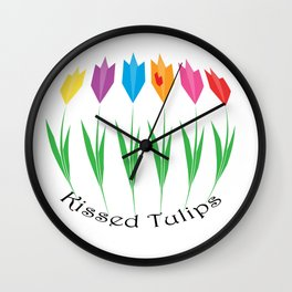 Tulips KT Wall Clock