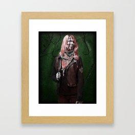 Ghoulish Glamour - The Hellraiser Framed Art Print
