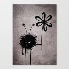 Evil Flower Bug Canvas Print