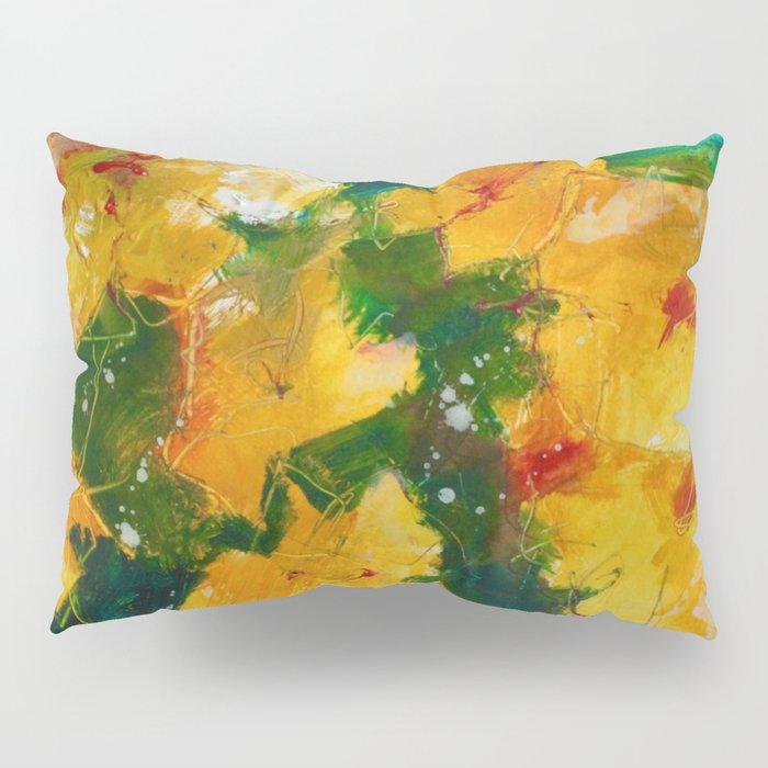 Party Pansies Pillow Sham