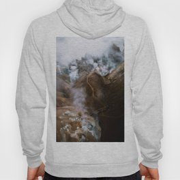 Kerlingarfjöll mountain range in Iceland - Aerial Landscape Photography Hoody