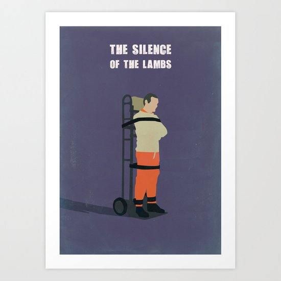 The Silence Of The Lambs Minimalist Art Print