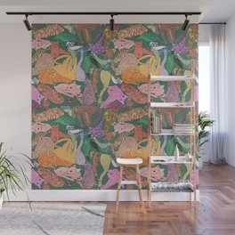 Stack of animals Wall Mural