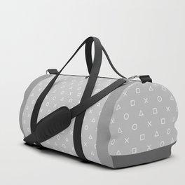 Grey Gamer Duffle Bag