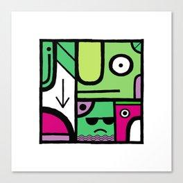 Square 5 Canvas Print