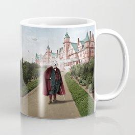 Sir Samuel Samoyed at the Resort Coffee Mug