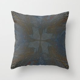 Anochronic resistence stimulated mostly through cathodes. Throw Pillow