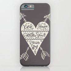 Kind Gentle Brave 2 Slim Case iPhone 6s