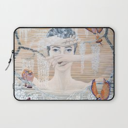 Wisteria tree Laptop Sleeve