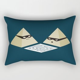 Pyramid Scheme Rectangular Pillow