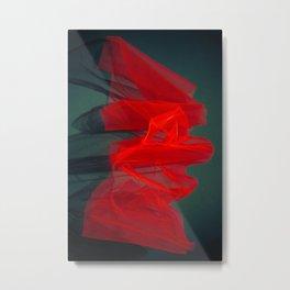 Red veil 5 Metal Print
