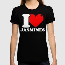 Jasmine Lover Gifts - I love Jasmines T-shirt