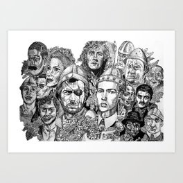 The Glorious Peoples' Republic of Treacle Mine Road Art Print