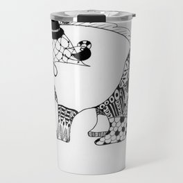 Annie the Antisocial Anteater Travel Mug
