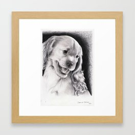 PUPPY - CACHORRO Framed Art Print