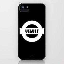 Velvet iPhone Case