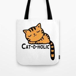 Cat-o-holic Tote Bag