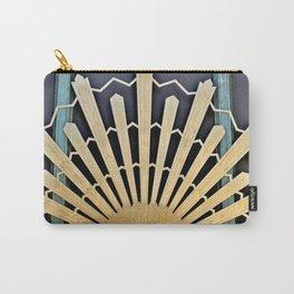 Art Deco Sunburst Carry-All Pouch