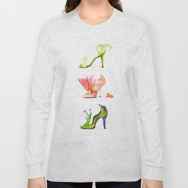 Fantasy Shoes Long Sleeve T-shirt