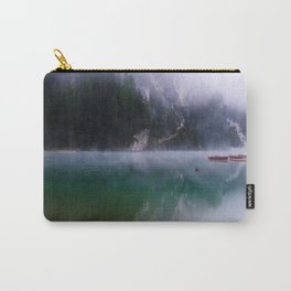 Foggy mountain lakes, Italy Carry-All Pouch
