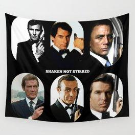007 Meet 007 & 007 & 007, 007 Bond Wall Tapestry