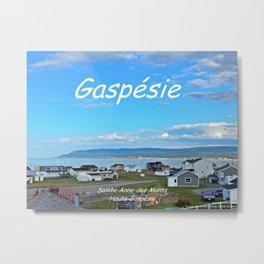 Sainte-Anne-des-Monts, Gaspésie Metal Print