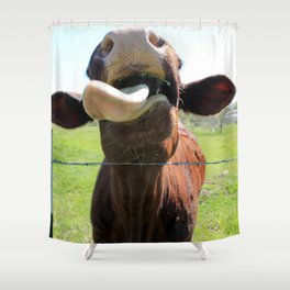 Can I Have a Lick? Shower Curtain