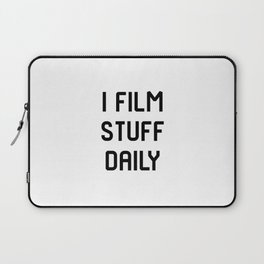 I Film Stuff Daily Movie Directors Film School Laptop Sleeve