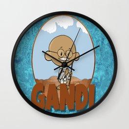 Lil Big Head Gandi Wall Clock