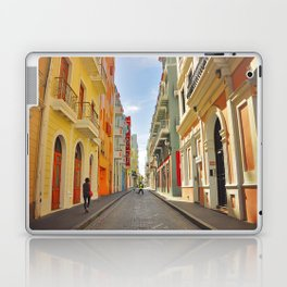 Streets of Old San Juan Laptop & iPad Skin