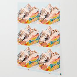 glass mountains Wallpaper