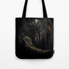 Gravelord Nito - Dark Souls (black tee PNG edition) Tote Bag