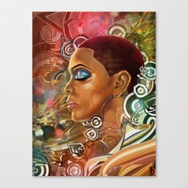 Ethereal Sister I Canvas Print
