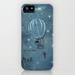 Unposted Letter -3 iPhone Case