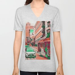 Impressive Travel - San Francisco Unisex V-Neck