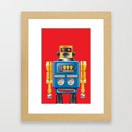 Hellobot 3 Framed Art Print