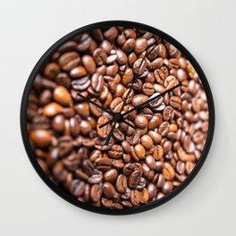 Fresh Coffee Beans Wall Clock