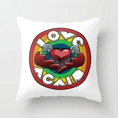 Love Again Throw Pillow